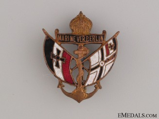 Berlin Naval Veteran's Association Pin