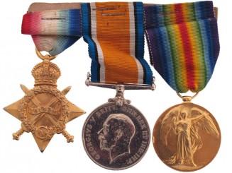Royal Army Medical Corps Trio – Pte. V. Pascoe