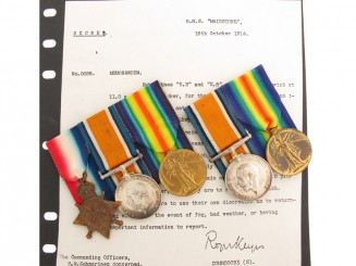 WWI Husband and Wife Medal Groups