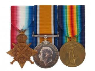 Awards to Royal Marines Brigade - Gallipoli