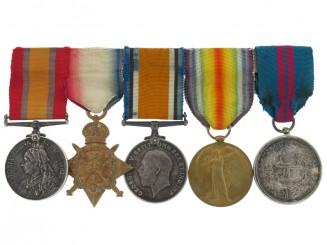 Awards of Major E.A. Weinholt, 1st Dragoon Guards