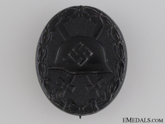 Black Grade Wound Badge - Marked