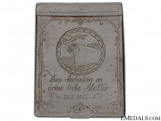 Blockade Runner Badge Engraved Box