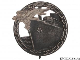 Blockade Runner Badge by Fec. Otto Placzek