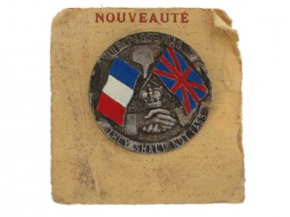 WWI Verdun Commemorative Badge