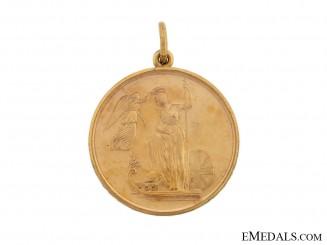 GOLD Naval Centenary of the Battle of Trafalgar Medal, 1805-1905