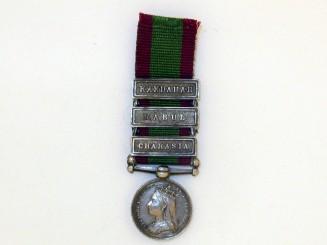 Miniature Afghanistan Medal 1878-80,