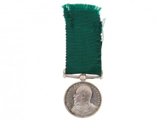 Miniature Volunteer LS&GC Medal