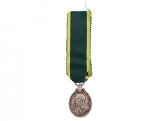 Miniature Territorial Efficiency Medal