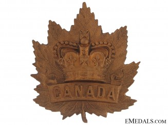 Boer War (QVC) General Service Cap Badge