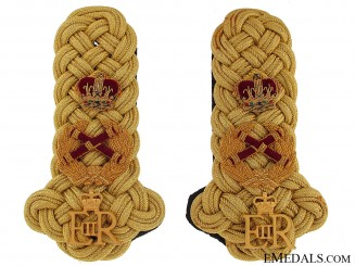 British Field Marshall Epaulettes