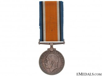 British War Medal - 75th Infantry Battalion