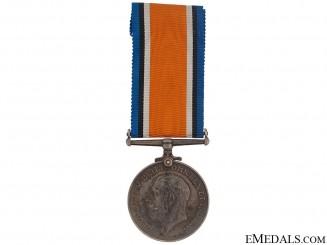 British War Medal - Canadian Field Artillery