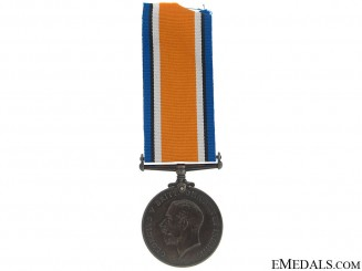 British War Medal - Canadian Railway Troops