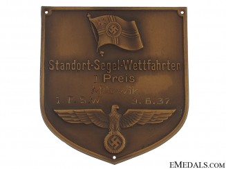 Bronze Award Plaque