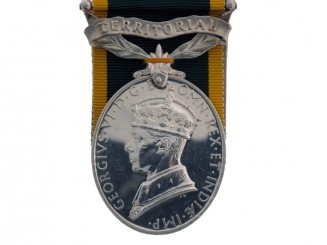 Efficiency Medal, Territorial Clasp