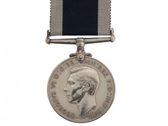 Naval Long Service & Good Conduct Medal.