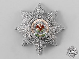 Prussia, Kingdom. An Order of the Red Eagle, I Class Star in Silver/Gold and Brilliance, c. 1890