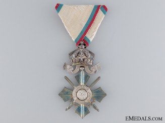 Bulgarian Order of Civil Merit; Sixth Class Cross