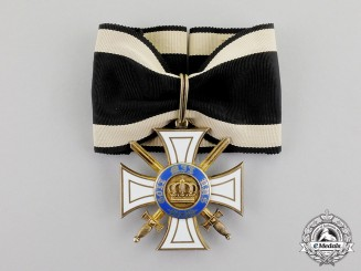 Prussia. An Order of the Crown with Swords, Type II, by Wagner, c.1914