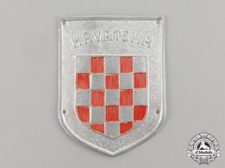 Croatia. An Italian-Croatian Legion Badge, c.1941