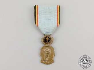 Belgium. A Federation of the Former Prisoners of War Veteran's Medal 1940