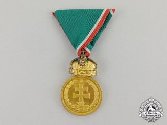 Hungary, Kingdom. A Signum Laudis Medal with the Holy Crown of Hungary 1922, Bronze Grade