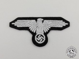 Germany.  A Waffen-SS Sleeve Eagle; Enlisted Version
