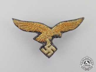 Germany. A Fine Quality Luftwaffe General's Visor Cap Eagle