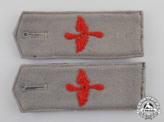 Germany, Imperial. An Early Pair of Shoulder Straps for Flying Personnel, c.1915