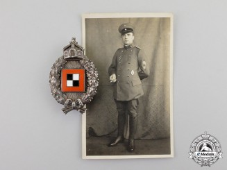 Prussia. An Imperial First War Observer's Badge, by C. E. Juncker of Berlin