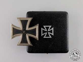 Germany. An Iron Cross 1939 First Class in its Case of Issue