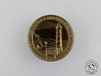 Germany. A 1960 Naval Regional Meeting in Hamburg Badge