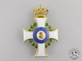 Saxony. An Order of Albrecht in Gold, 1st Class Officer's Cross, c.1900