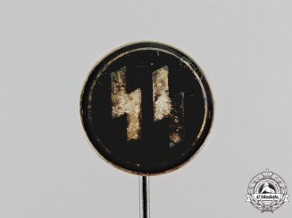 Germany. A Waffen-SS Membership Stick Pin by Hoffstätter Bonn; Numbered 120871