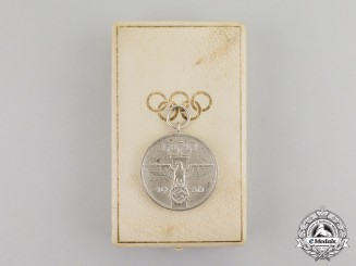 Germany. A 1936 XI Summer Olympic Games Commemorative Service Medal