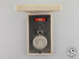 Germany. A 1936 XI Summer Olympic Games Service Medal with Case