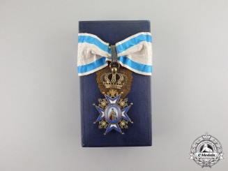 Serbia. An Order of St. Sava, 3rd Class Commander, (1921-1941), by Arthus Bertrand & Cie PARIS