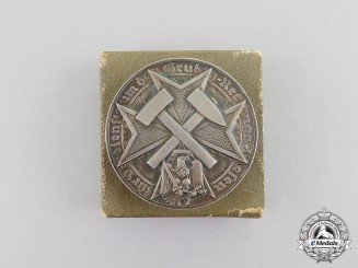 Germany. A Rare Mine Rescue Medal in its Presentation Box of Issue