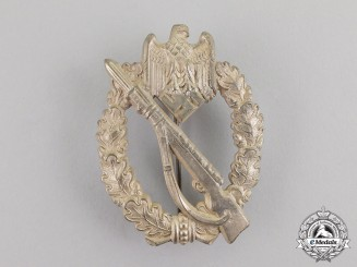 Germany. A Silver Grade Infantry Assault Badge by Sohni Heubach & Co.