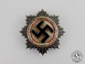 Germany. An Early Model German Cross in Silver by Deschler & Sohn of Berlin, Heavy Version