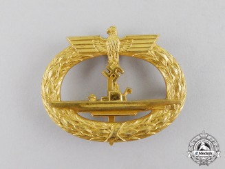 Germany. An Absolutely Mint Kriegsmarine Submarine Badge