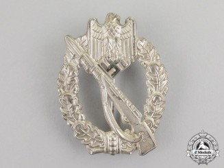 Germany. A Mint & Early Silver Grade Infantry Assault Badge