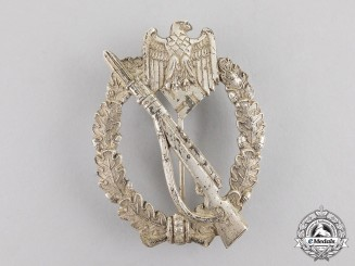Germany. A Silver Grade Infantry Assault Badge