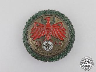 Austria. A 1944 Small-Caliber Rifle Tirolian Master Shooting Award