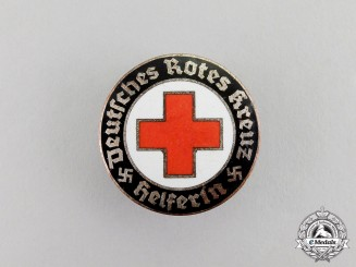 Germany. A DRK (German Red Cross) Helper Badge
