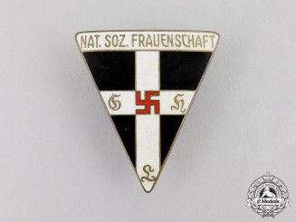 Germany. A National Socialist Women's League Membership Badge; Large Version by Steinhauer & Lück