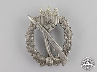 Germany. A Silver Grade Infantry Assault Badge by Richard Simm & Söhne