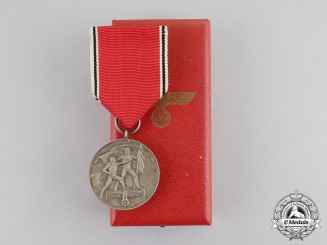 Germany. A 1938 Austria Anschluss Commemorative Medal in its Case of Issue