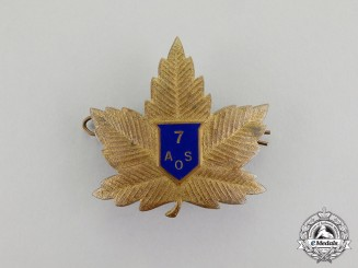 Canada. An RCAF No. 7 Air Observer School at Portage la Prairie Instructor's Badge, Very Scarce